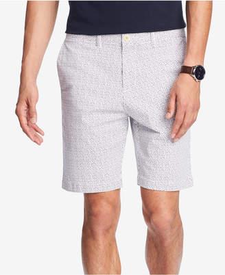 "Tommy Hilfiger Men's Triangle-Print 9"" Shorts"
