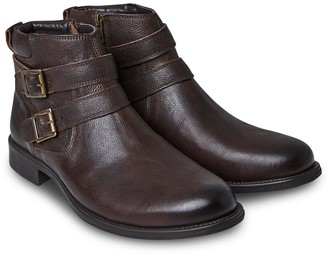 Remix Leather Boots