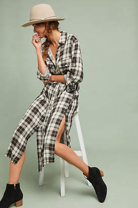 Sanctuary Belted Plaid Shirtdress