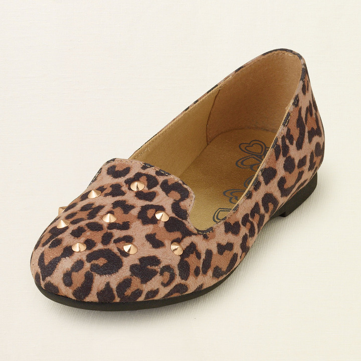 Children's Place Leopard loafer