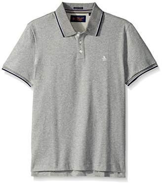 Original Penguin Men's Short Sleeve Sueded Tipped Polo