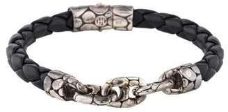 John Hardy Leather Kali Chain Bracelet