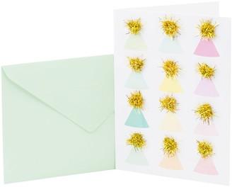 "Hallmark Signature Birthday ""Party Hats"" Greeting Card"