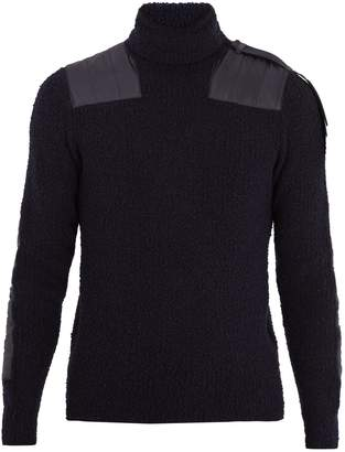 Moncler X Craig Green roll-neck wool-blend sweater