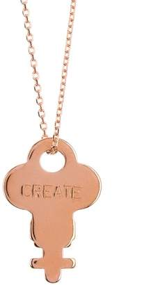 The Giving Keys Dainty Believe Key Ring Necklace