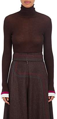 BY. Bonnie Young Women's Cashmere-Silk Turtleneck Sweater