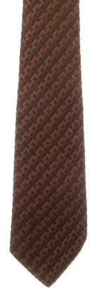 Salvatore Ferragamo Patterned Silk Tie