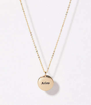 LOFT Aries Pendant Necklace