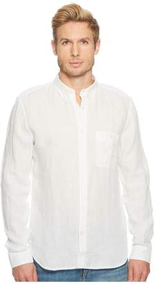 7 For All Mankind Linen Oxford Shirt Men's T Shirt