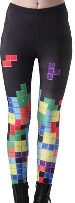 3D Leggings Hot Sale Galaxy Star Printed High Waist Leggings Pants S
