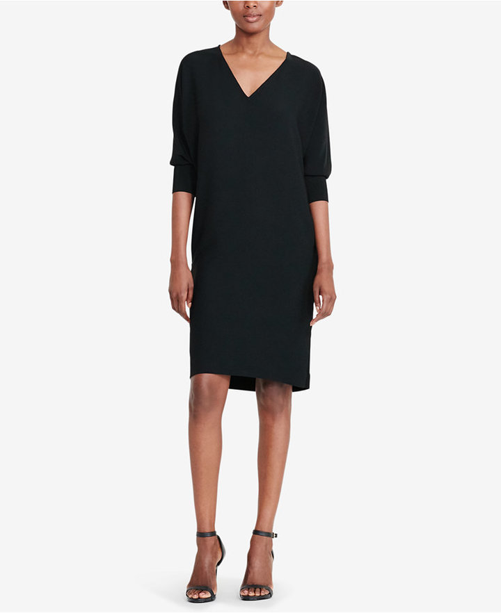 Lauren Ralph Lauren Crepe Shift Dress 3