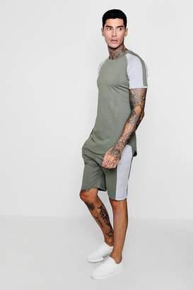 boohoo T-Shirt And Short Set
