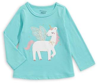 First Impressions Baby's Long-Sleeve Unicorn Tee