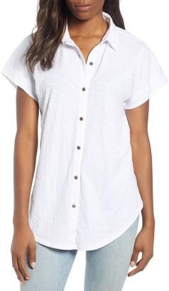 Caslon Slub Jersey Camp Shirt