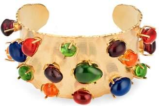 Gucci Cuff bracelet with cabochon stones