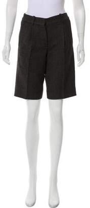 Chloé Wool Knee-Length Shorts