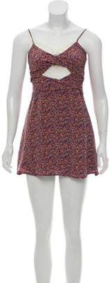 Charlotte Ronson Floral Mini Dress