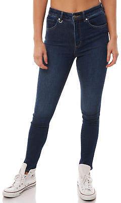 Neuw New Women's Womens Marilyn Skinny Jean Renee Cotton Polyester Elastane Blue