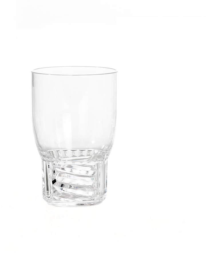 Trama Drink Trinkglas, H 13 cm / glasklar