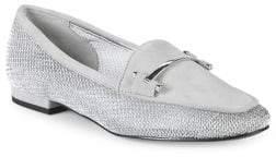 Halston H Cat Mesh Loafers