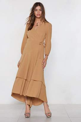 Nasty Gal Driven to Tiers Midi Dress