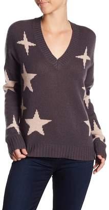 360 Cashmere Liliana Cashmere Star Print Sweater