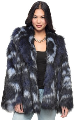 Wild Faux Fur Coat $398 thestylecure.com