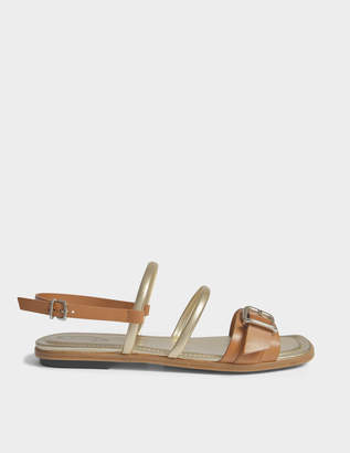 Tod's Flat open two sandals