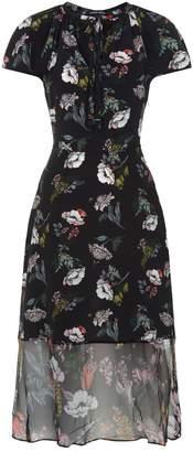 Markus Lupfer Utopia Silk Midi Dress