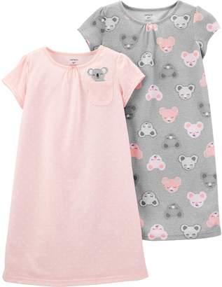 Carter's Girls 4-14 2-pack Polka-Dot Dorm Nightgowns