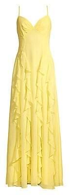 BCBGMAXAZRIA Women's Ruffle Gown - Size 0