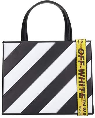 Off-White Black Leather Bag