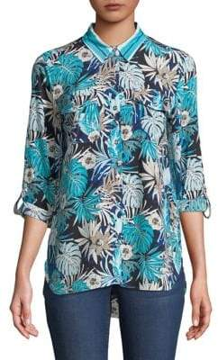 Tommy Hilfiger Aloha Printed Button-Down Shirt