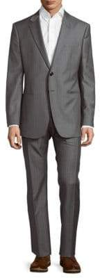 Giorgio Armani Pinstripe Wool Suit