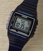Casio (カシオ) - カシオ デジタル カラー(A・ブラック)