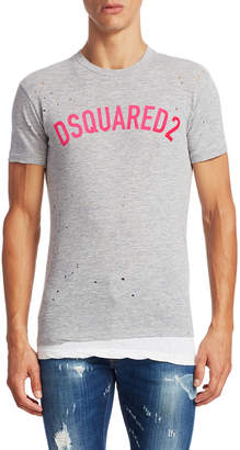 DSQUARED2 Logo Chic Dan Fit T-Shirt