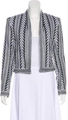 Balmain Woven Open Knit Jacket