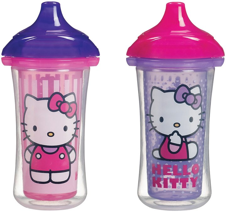 Munchkin Click Lock Insulated Sippy Cup - Hello Kitty - 9 oz - 2 ct