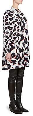 Givenchy Women's Lily Silk Crepe de Chine Print Dress