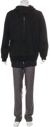 Givenchy Hooded Zip-Front Jacket