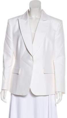 Giorgio Armani Peak-Lapel Structured Blazer