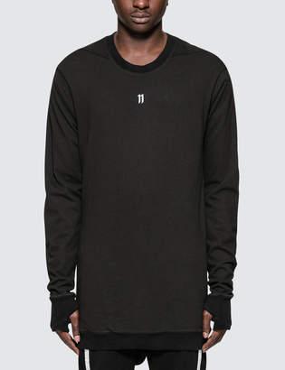 11 By Boris Bidjan Saberi Logo L/S T-Shirt