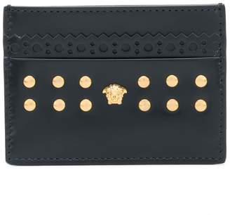 Versace studded cardholder