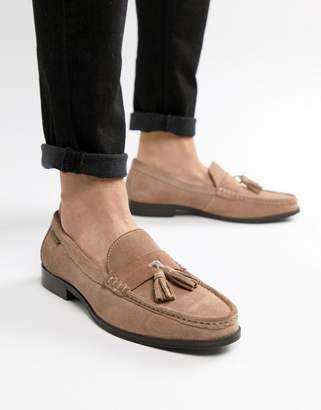 Ben Sherman Loafers Tassel Loafers In Pink Suede