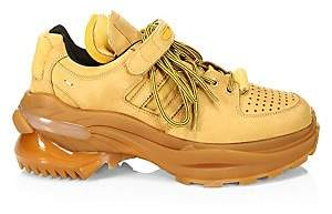 Maison Margiela Men's Arisanal Perforated Sneakers