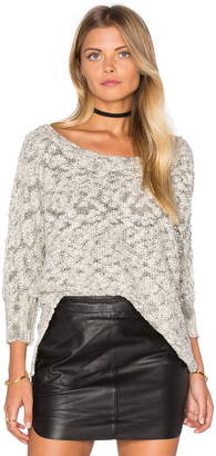 Michael Stars Boatneck Dolman Sweater $158 thestylecure.com