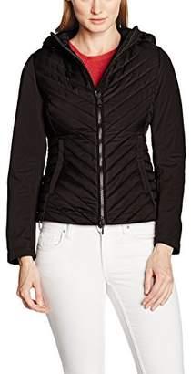 Geox Women's Blouson Long Sleeve Jacket - Black - UK 16