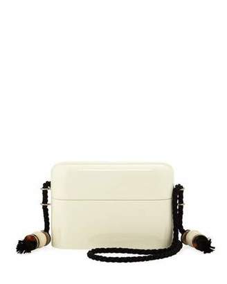The Row Lacquered Evening Case Crossbody Bag