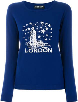 Twin-Set London knit jumper