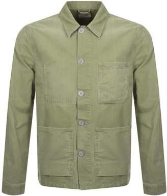 Nudie Jeans Paul Worker Jacket Green